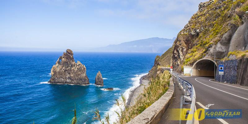Em sidecar em Madeira