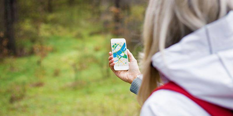 Geocaching mobile - Quilometrosquecontam