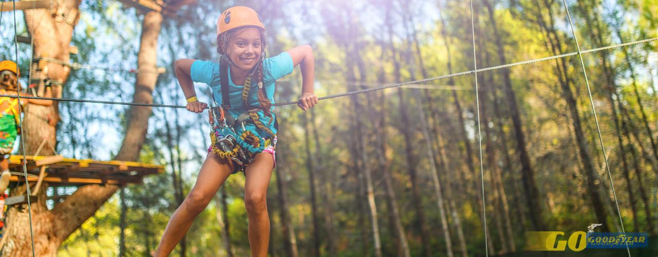 Arborismo crianças - Quilometrosquecontam