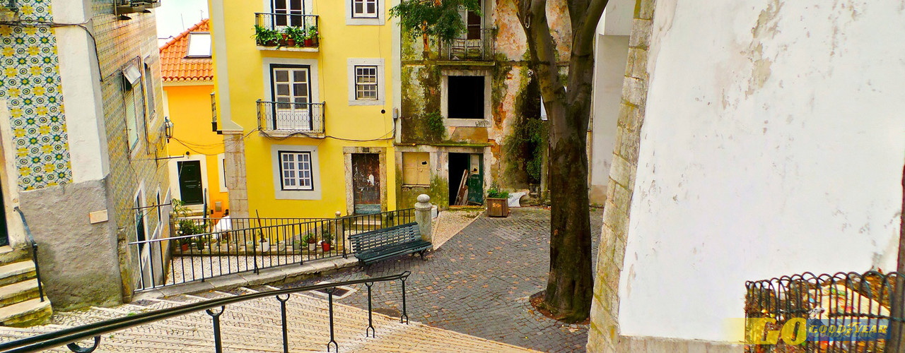 Lisboa patios - Quilometrosquecontam