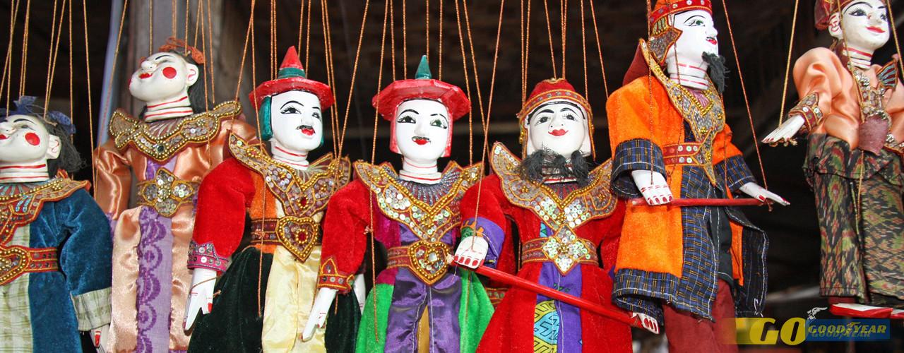 Marionetas - Quilometrosquecontam