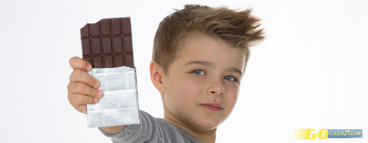 Crianças chocolate - Quilometrosquecontam