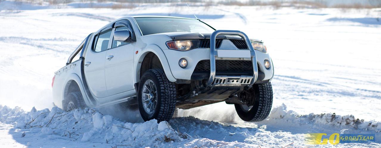 Carro na neve - Quilometrosquecontam
