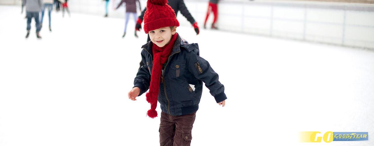 Criança patinagem - Quilometrosquecontam
