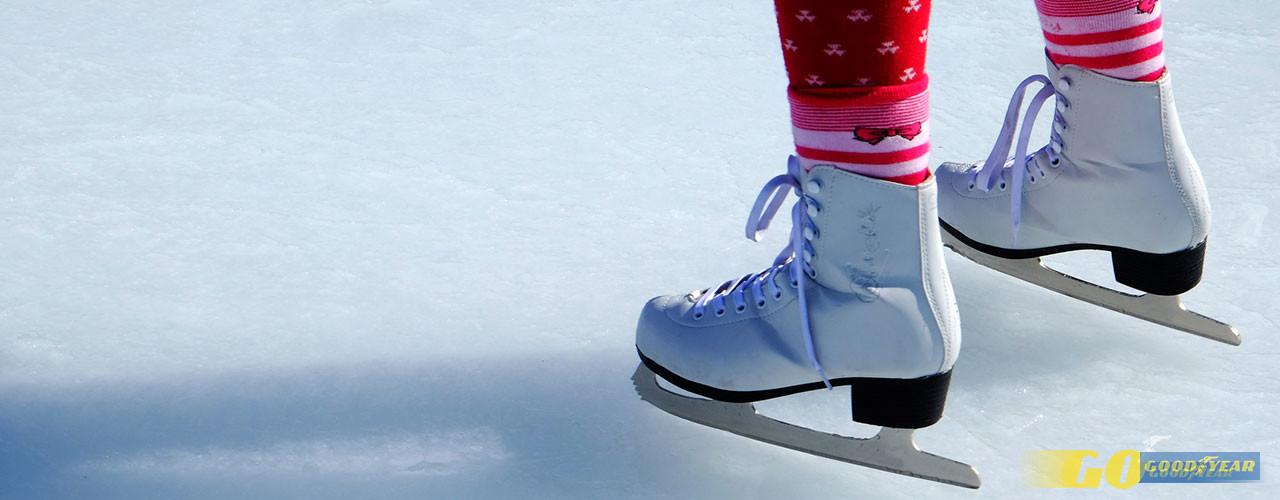 Patinagem gelo - Quilometrosquecontam