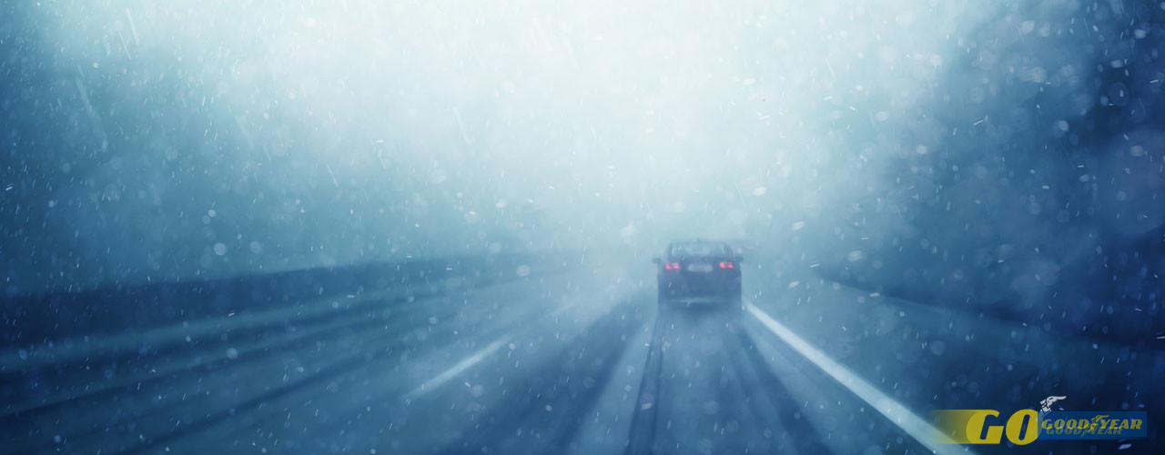 Estrada nevoa - Quilometrosquecontam