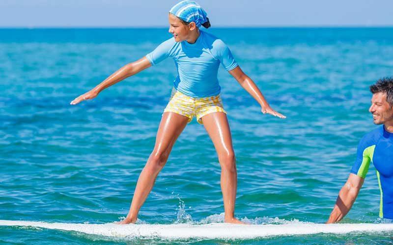 Surf criança - Quilometrosquecontam