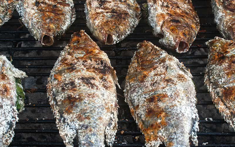 Grelhada de peixe