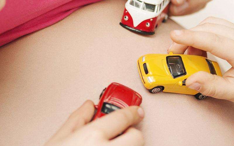 Cuidados na Gravidez durante a condução