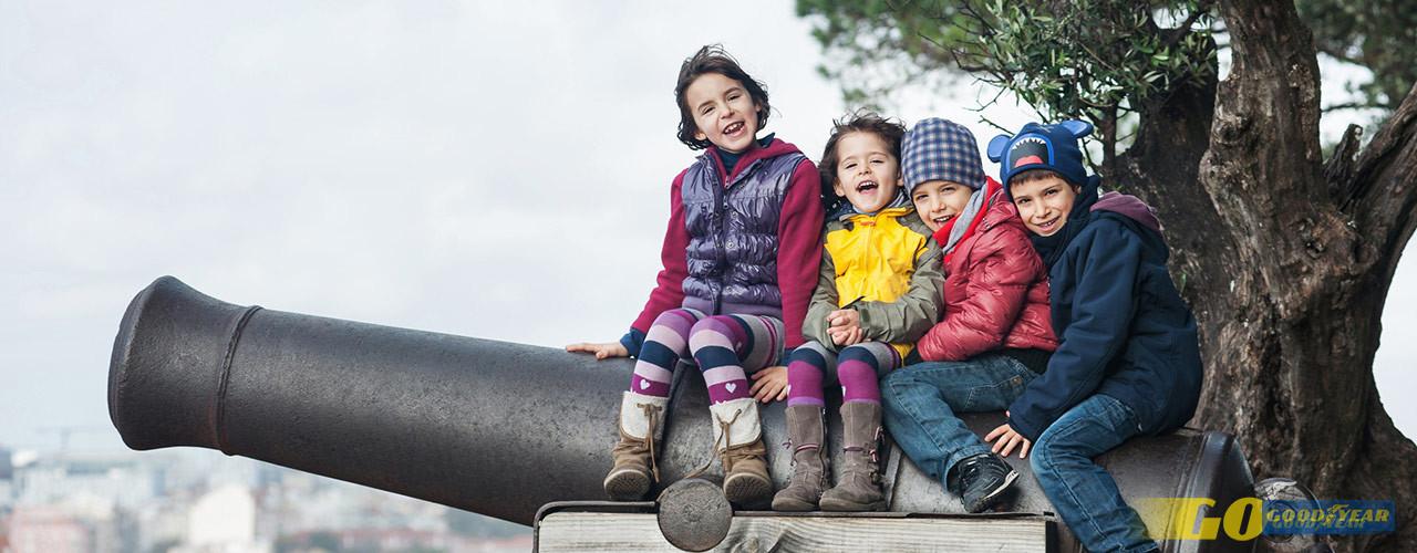 Férias do Natal: Na Goodyear conhecemos bem o desafio de ocupar os tempos livres das nossas crianças e temos algumas sugestões para a região de Lisboa.