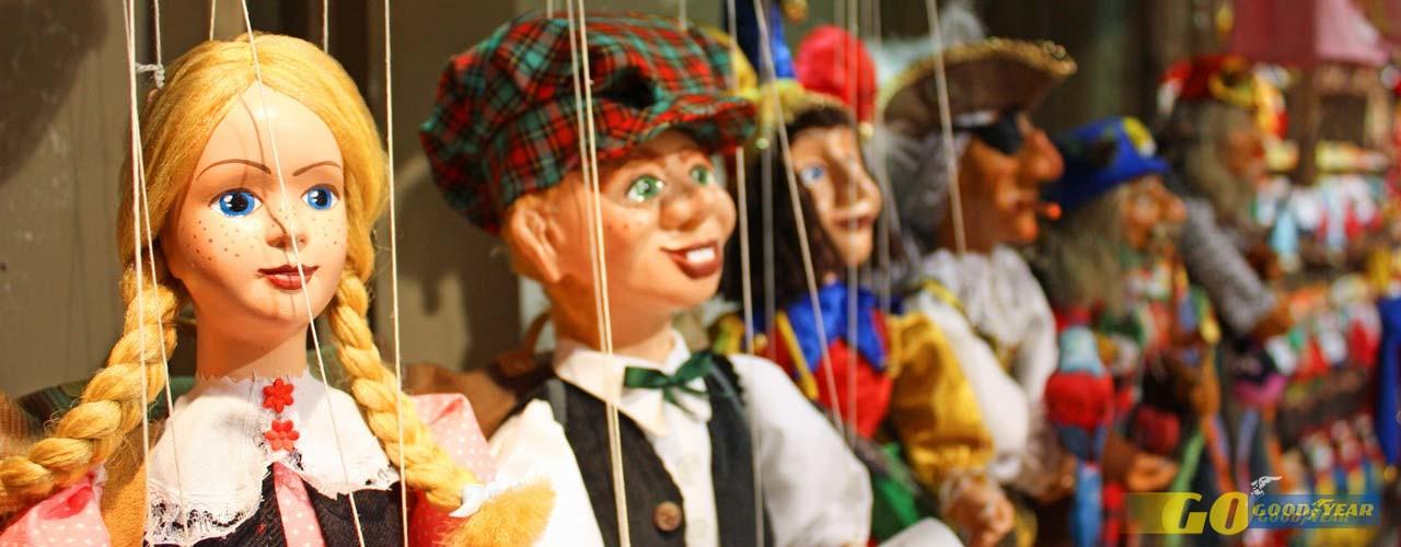 Marionetas e crianças, receita para uma tarde divertida