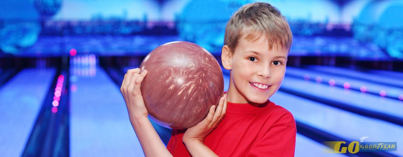 Pistas de Bowling para uma tarde divertida com crianças