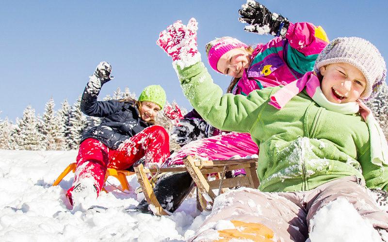 Serra da Estrela com crianças, a neve e a magia