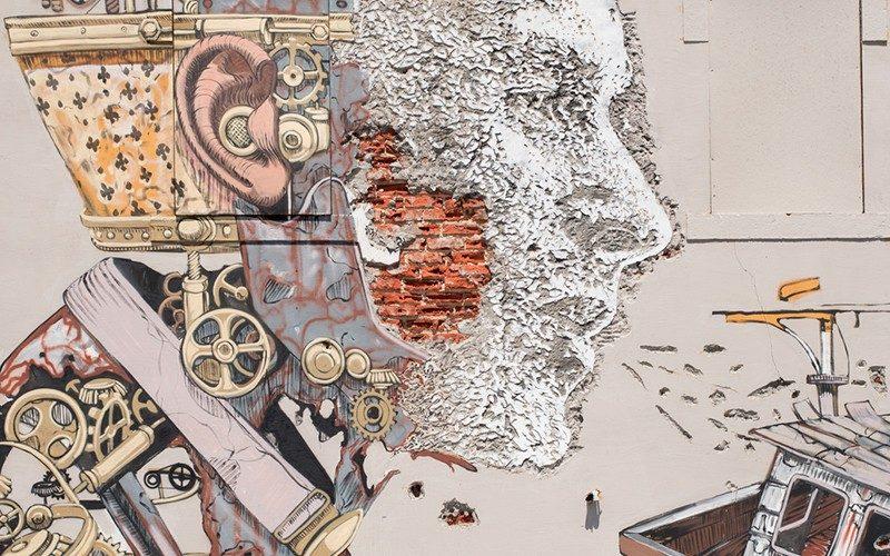 Vhils: notável artista português da nova geração