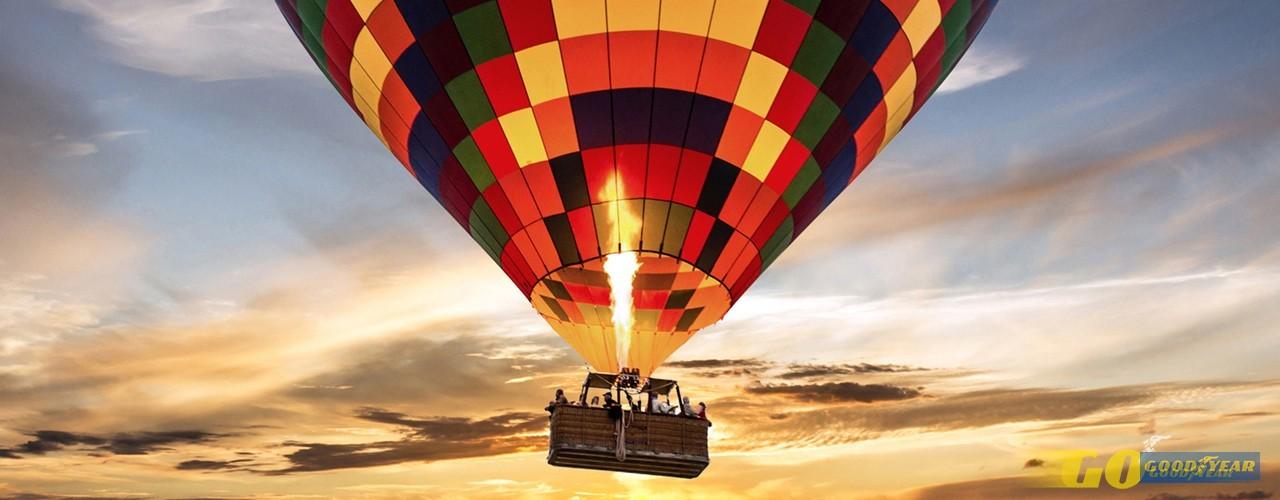 Não uma, mas cinco opções de viagens de balão em Portugal