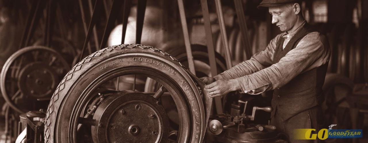 goodyear fabrico de pneus