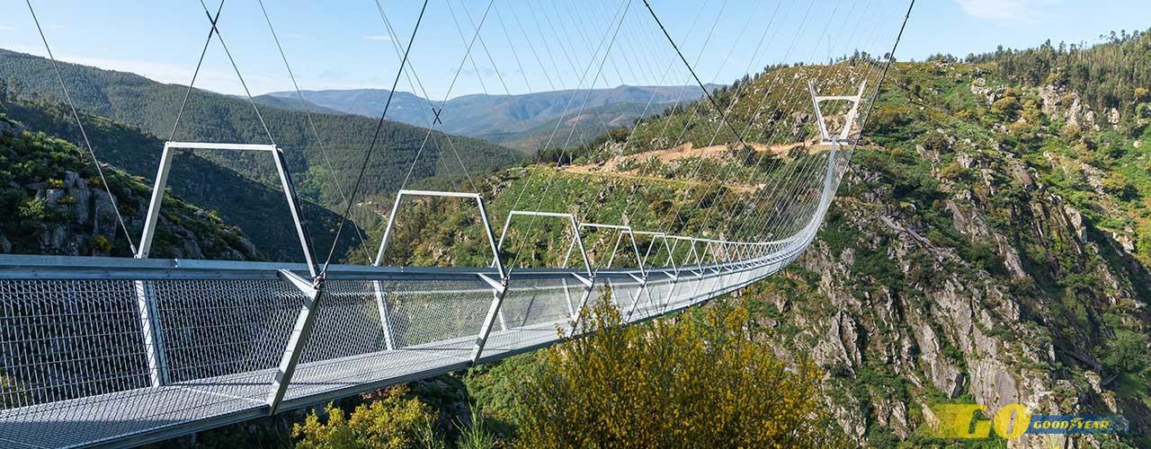 Bridge 516 Arouca, in Arouca in the district of Aveiro, Portugal